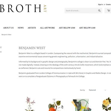 Broth Art – Artist Profile